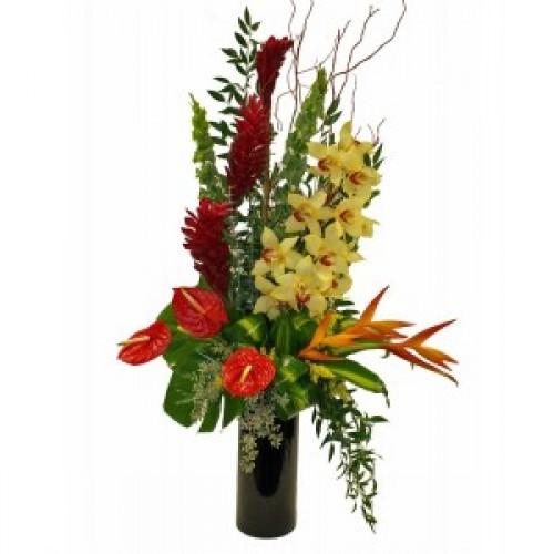 Букет Екзотика и Орхидеи