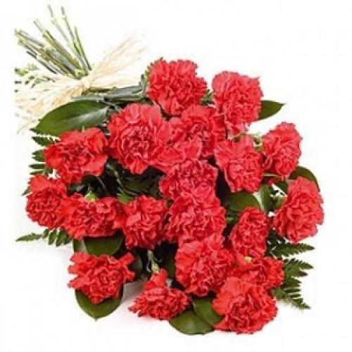 20 бр. червени карамфили