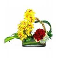 Аранжировка от цветя Поразяваща красота