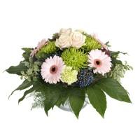 Полъх - Букет от гербери и рози