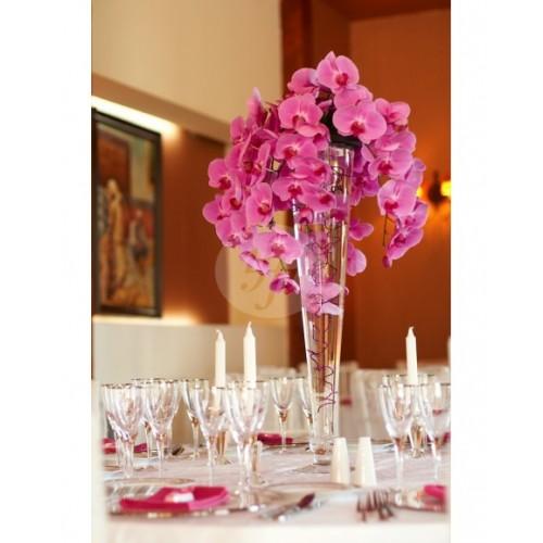 Аранжировка за маса с орхидея A14