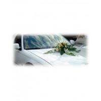 Аранжировка за кола от рози и дендробиум М8