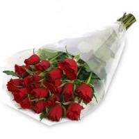 Букет 21 Червени Кенииски Рози