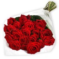 Букет от луксозни 21 Червени Рози