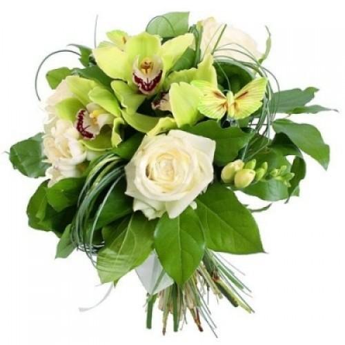 Букет Разкошни Орхидеи
