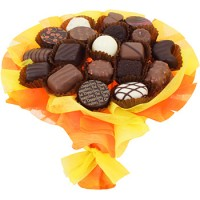 Шоколадов Букет в жълто