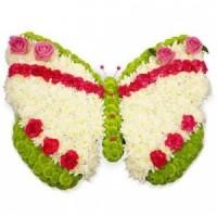 Пеперуда от цветя