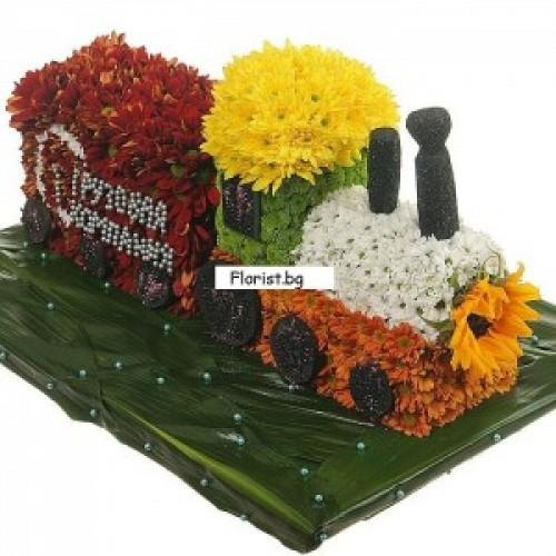 Влакче от цветя