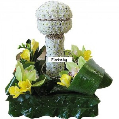 Микрофон от цветя