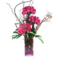 Моддерна аранжировка в розово