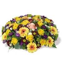 "Кошница с цветя ""Градина на наслада"""