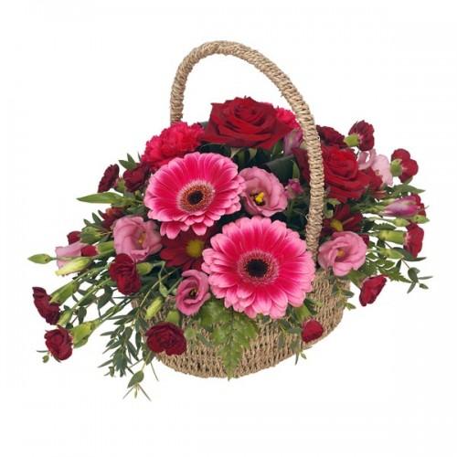 Топла кошница с цветя