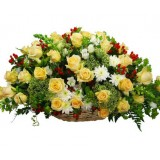 Flower basket Sumer from 51 to 101 flowers
