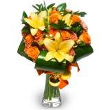 "Bouquet ""Christmas Sunshine"""